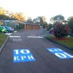 Car Park Lanes & Signs - Bateau Bay